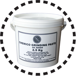 Chemico Grinding Paste Large Tubs
